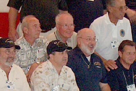Jim Golden at the 2003 reunion; photo courtesy of Mike Dutton