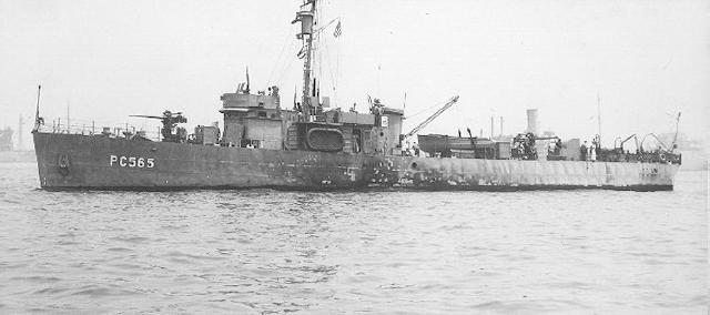 USS PC-565, US Navy Photo