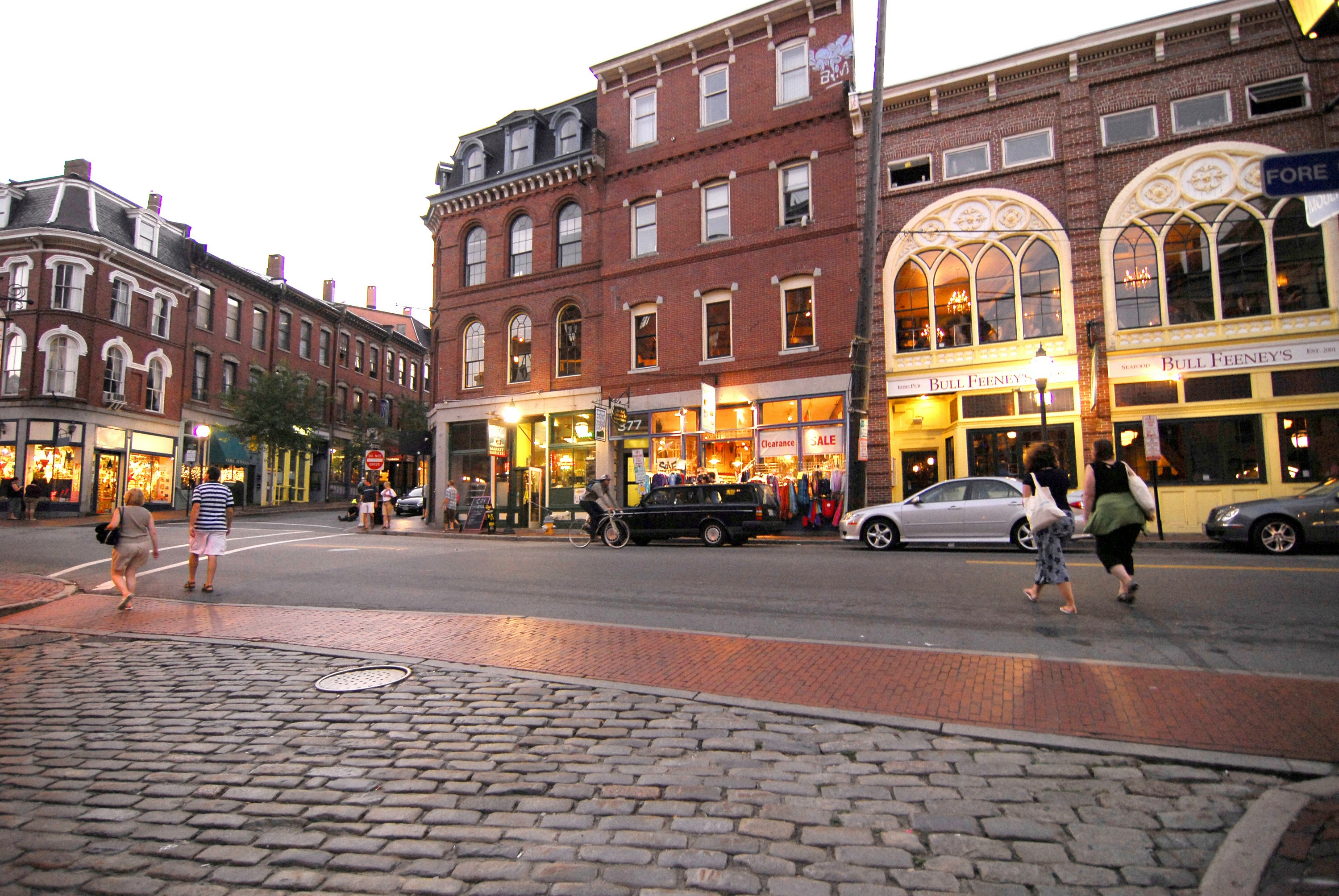 Overview of Portland Maine – Portland Maine Tourist Attractions Map