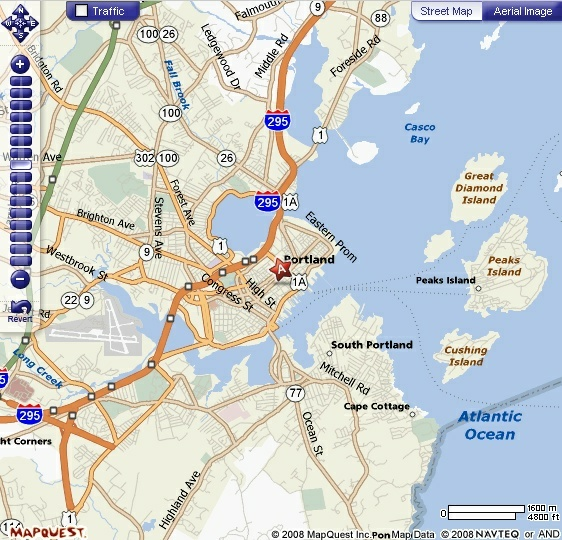 map of portland maine and surrounding areas Overview Of Portland Maine map of portland maine and surrounding areas